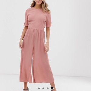 ASOS pink jumpsuit
